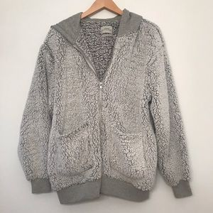 Urban Outfitters fuzzy hoodie